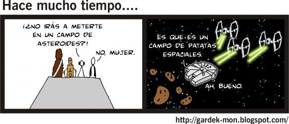 028 - Campo de... ¿asteroides?