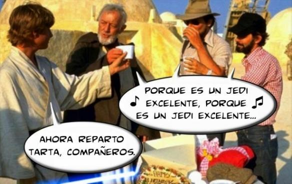 Cumpleaños a lo Jedi