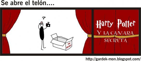 Se abre el telón.... - Harry Potter y la Cámara Secreta