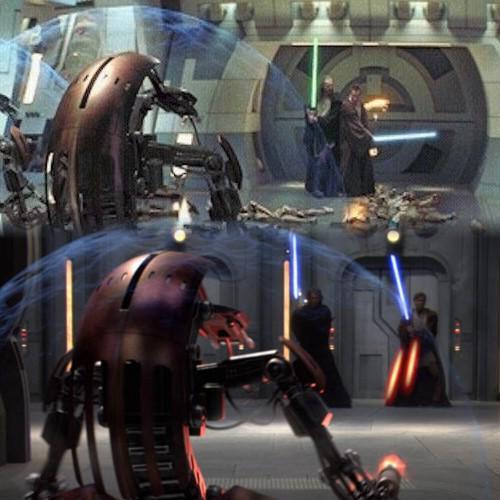 01 - Maestro y aprendiz contra droidekas