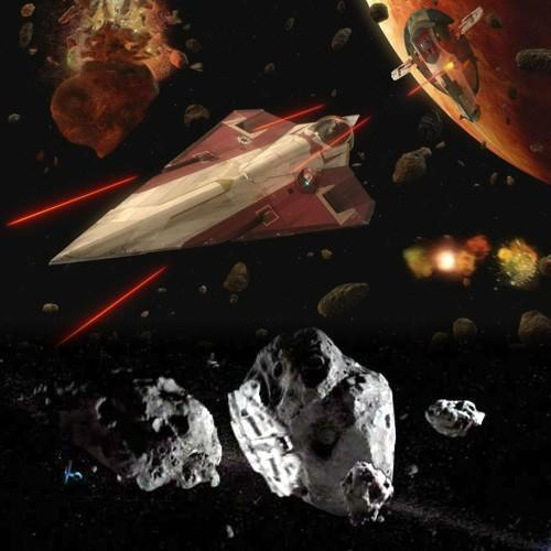 11 - Persecución en el campo de asteroides