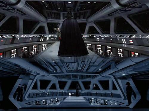 29 - Darth Vader en el puente de mando