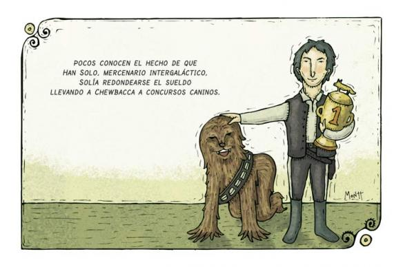 Montt - Han y Chewie
