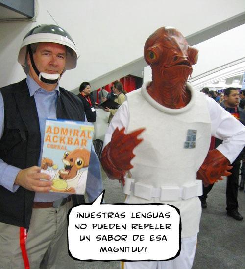 """Cereales """"Almirante Ackbar"""""""