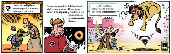 Mel - La religión Jedi