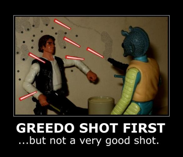 Greedo disparó primero