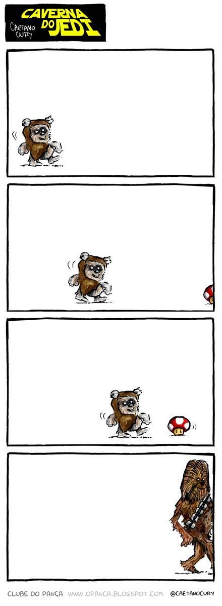 El nacimiento de Chewie