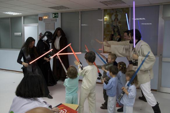 Visita al Hospital Virgen Macarena