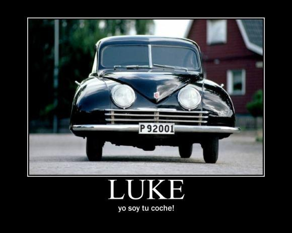 LUKE, yo soy tu coche