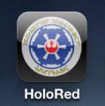 HoloRed en mi iPhone