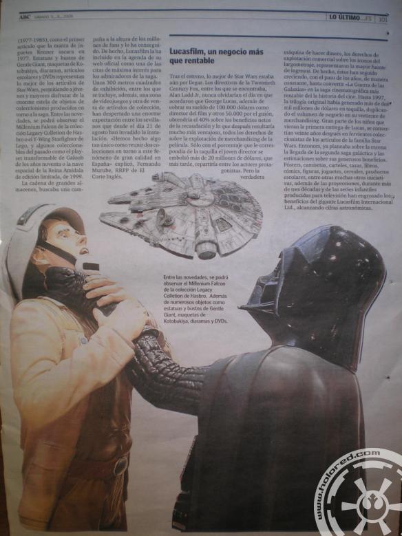 2009090502 - Universo Star Wars en El Corte Inglés ABC - Página 2
