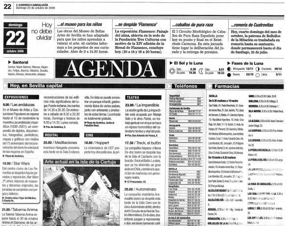 Correo de Andalucía JEHES 2006