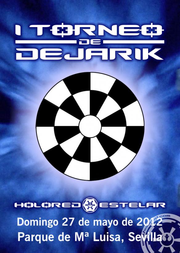 Cartel del I Torneo de Dejarik de HoloRed Estelar