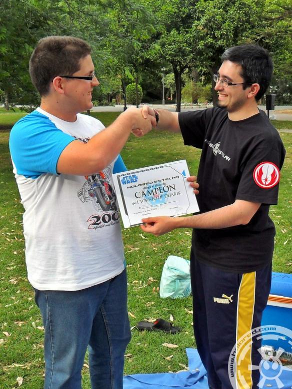 Campeón del I Torneo de Dejarik de HoloRed Estelar